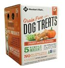 Members Mark Grain Free Dog Treats Peanut Butter Flavored 5 lb