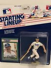 1989 Kirk Gibson Starting Lineup figure Card Los Angeles Dodgers toy MLB Rare