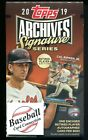 2019 Topps Archives Signature Series Retired Player Edition Hobby Baseball Box