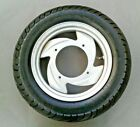 SYM Mio scooter FRONT WHEEL & TIRE PACKAGE ( wheel part # 42702-G03-600 )