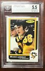 1986 87 O-Pee-Chee #122 MARIO LEMIEUX 2ND YEAR Beckett BGS Pittsburgh Penguins