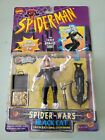 Black Cat Spider Man the Animated Series 1996 Toy Biz Mint on Mint card