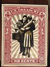 Shepard Fairey Proud Parents Signed and Numbered Print Obey Giant