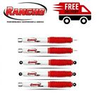 Rancho RS5000X For 87-95 Jeep Wrangler YJ Steering Stabilizer & Shock Absorbers