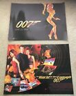 James Bond: The World Is Not Enough 1999 2x DIFFERENT Small Quad Cinema Posters