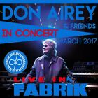 Don Airey & Friends / European Tour 2017 Live In Fabrik 2CD ORG NEW!!! HR025