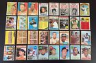 Vintage Baseball 32 Card Lot with Hank Aaron, Roberto Clemente & More