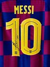Lionel MESSI #10 Barcelona Soccer Shirt Signed Autograph Collection Jersey COA