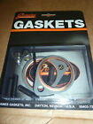 Harley Davidson James Exhaust Gaskets And Nut Stud Set For Big Twin 1966 1986