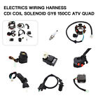 Electrics Wiring Harness CDI Regulator Start Switch GY6 150CC For Go Kart Buggy