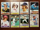 1979 TOPPS Baseball Complete Set w Ozzie Smith RC, Bump Wills ERROR #369 see pic