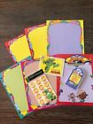 Vintage Trend Stinky Stickers Album Pages Scratch n Sniff 1980 1983