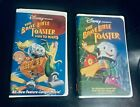 Lot of 2 VHS Movies The Brave Little Toaster 1991 Goes to Mars 1998 RARE
