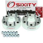2pc 5x45 to 6x55 Wheel Spacers Adapters 2 for Jeep Compass Liberty vw