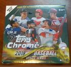 2018 Topps Chrome Update Box Acuna Torres Soto Ohtani Meadows RC Sealed