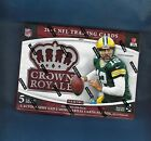 2015 CROWN ROYALE FOOTBALL HOBBY BOX 2 AUTOGRAPHS 2 MEMORABILIA CARDS PER BOX !