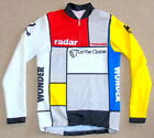 EXCELLENT COND LA VIE CLAIRE TEAM LONG SLEEVE JERSEY SANTINI 38 CIRCUMERENCE