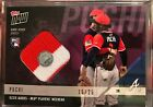 OZZIE ALBIES 15 25 2018 TOPPS NOW GAME USED BRAVES PLAYERS WEEKEND JERSEY RELIC
