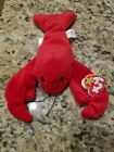 Retired Ty Beanie Babies Pinchers the Lobster Style 4026 PVC June 19th 1993 Rare