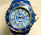 Blue Ceramic Fashion Women's Watch homage to Chanel