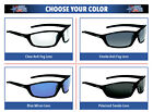 Bolle Solis Safety Glasses Sunglasses ANSI Z87+ Work Eyewear Choose Color