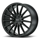 20 Inch 5 Lug 5x1143 5x45 Black Wheels 20x85 +38mm 4 Rims Fits Accord