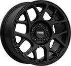 18 Inch 5 Lug 5x1143 5x45 Black Wheels 18x8 +38mm 4 Rims Fits Camry Civic