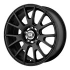 18 Inch 5 Lug 5x1143 5x45 Black Wheels 18x8 +45mm 4 Rims Fits Accord Camry