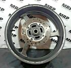 2007-2010 HONDA CBR600RR OEM REAR RIM WHEEL WITH ROTOR TESTED STRAIGHT