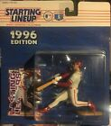 1996 Will Clark Texas Rangers Baseball Starting Lineup World Series