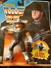 Officiel WWF Les Superstars Du Catch The Undertaker Hasbro 1992 French Card