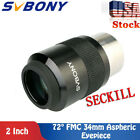 Lens Wide Angle 72 Aspheric Eyepieces 34mm Fully Multi Coated for Telescopes US