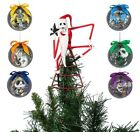 Disney The Nightmare Before Christmas Ornament And Tree Topper Set New
