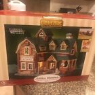 Lemax Mountain View Woodworks Studio Vail Village Lighted Building 55242 USED