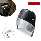 5-7''Universal Motorcycle Round Headlamp Fairing Front Windshield Bracket Trim
