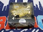 2009 Rittenhouse The Complete Twilight Zone Factory Sealed 24 Pack Box - 4 Autos