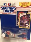 1990 Chris Sabo Starting Lineup figure Card toy Cincinnati Reds W/ Rookie Pic
