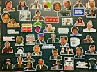 The Office Sticker Pack of 50 Stickers Funny Stickers for Laptops Computers