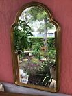 Antique Italian Wood with Gold Leaf Finish Wall Mirror by decorative crafts inc