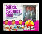 NEW 1976 Kenner Six Million Dollar Man CRITICAL ASSIGNMENT ARMS Box Set MIB