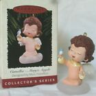 Hallmark Ornament 1995 Mary's Angels Collector's Series #8 CAMELLIA ~ EUC