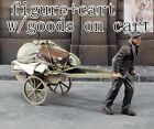 1/35 Resin Refugees Pulling Cart unpainted unassembled QJ125