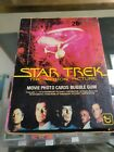 1979 TOPPS STAR TREK MOTION PICTURE CARDS 36 SEALED WAX PACKS W BOX