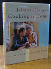 JULIA AND JACQUES COOKING AT HOME 1999 JULIA CHILD AND JACQUES PEPIN SIGNED