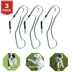 3 Pack New Metal Dog Whistle Supersonic Sound Pet Command Training Obedience