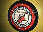 Texaco Fire Chief Oil Gas Station AuthService Garage Advertising Wall Clock Sign