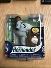 2013 McFarlane Felix Hernandez Debut Figure Grey Uniform Sealed #'d 1170/1500