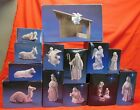 AVON NATIVITY 15 Pc SET Porcelain Collectibles Holy Family Magi Stable Angel