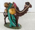 Vtg 1968 Atlantic Mold Ceramic Expert Hand Painted Christmas Nativity Camel