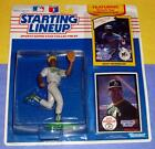 1990 DAVE HENDERSON Oakland Athletics A's Rookie Starting Lineup + 1981 Mariners